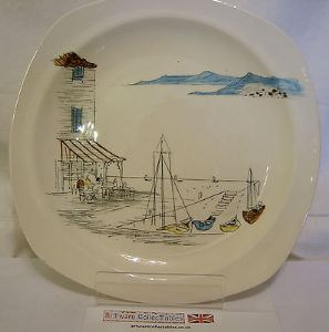 Midwinter 'Riviera' 7.75 inch Plate - 1950s - SOLD